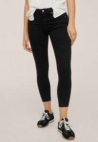 Mango - Jeans Skinny Fit - black denim - 0