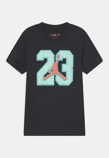 23 GAME TIME  - T-shirt con stampa - black
