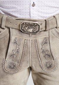 Spieth & Wensky - PETERSBERG - Leather trousers - braun - 4