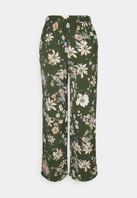 ONLY - ONLNOVA PALAZZO PANT - Trousers - ponderosa pine/green - 1