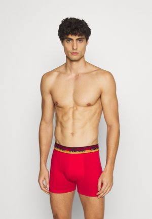 BOXERS 2 PACK - Pants - white/red