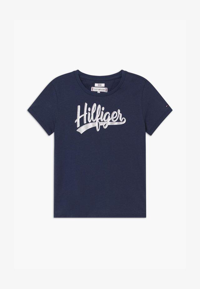 FOIL - Print T-shirt - blue