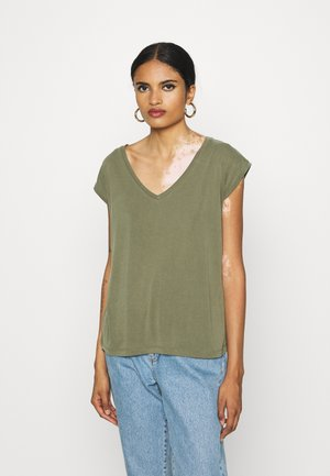PCKAMALA - T-shirt basic - grape leaf