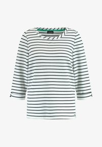 Taifun - Long sleeved top - off-white /black ringel - 3