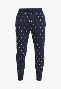 Polo Ralph Lauren - PRINTED LIQUID  - Pyjama bottoms - cruise navy - 3
