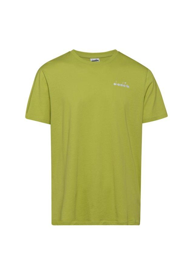CORE - T-shirt basic - 70318 - verde mela