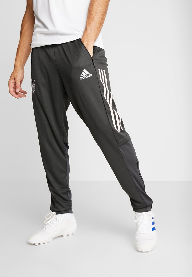 adidas Performance - DEUTSCHLAND DFB TRAINING PANT - Koszulka reprezentacji - carbon
