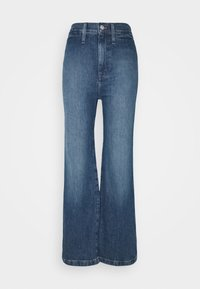 LEIGH RETRO - Flared Jeans - mersey