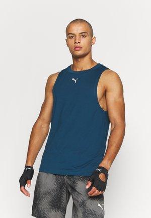 MENS STUDIO TANK - Treningsskjorter - intense blue