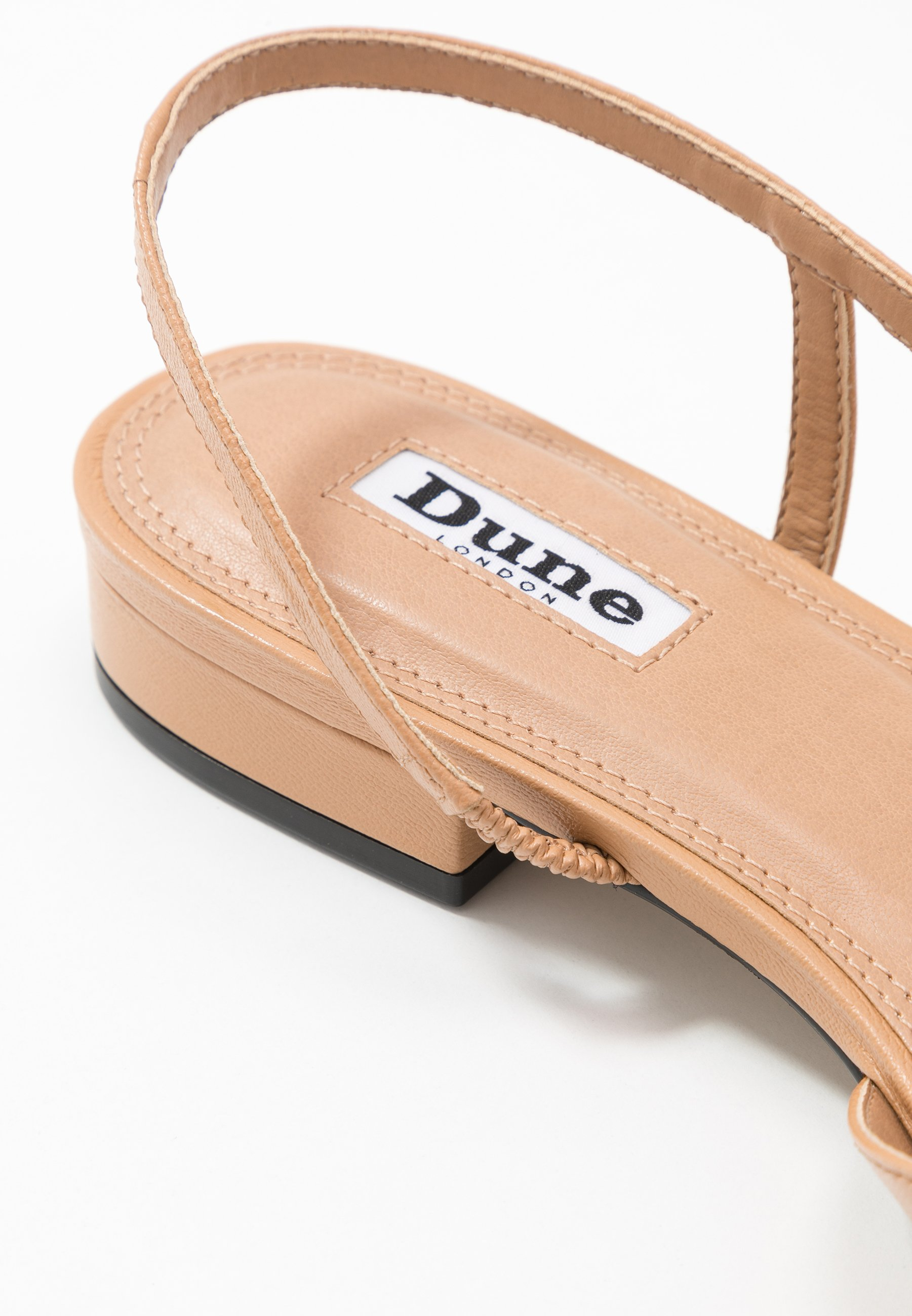 Latest Collections 2020 Cool Women's Shoes Dune London CORALLINA Slingback ballet pumps camel yxt3NhA03 gelgbqisv