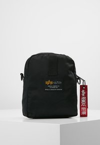 Alpha Industries - CREW CARRY BAG - Across body bag - black - 2