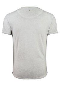 Key Largo - MT PREDATOR - Print T-shirt - light grey - 1