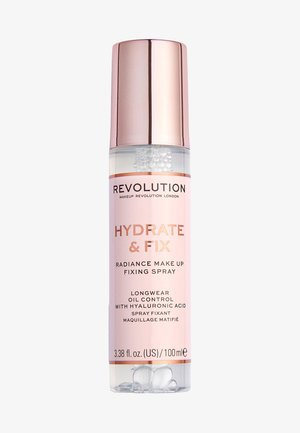 REVOLUTION HYDRATE & FIX FIXING SPRAY - Setting spray & powder - -