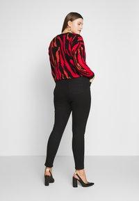 Simply Be - HIGH WAIST SKINNY - Jeans Skinny Fit - black - 2