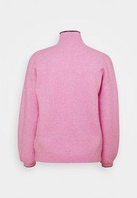 Victoria Victoria Beckham - OVERSIZED MOCK NECK JUMPER - Strikpullover /Striktrøjer - lilac pink - 1