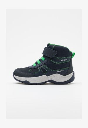 SENTIERO BOY WPF - Winter boots - navy/green
