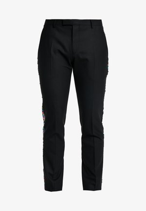 LIQUORICE TROUSER EXCLUSIVE PRIDE - Trousers - black