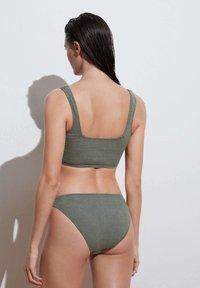 OYSHO - CLASSIC - Bikini bottoms - green - 2