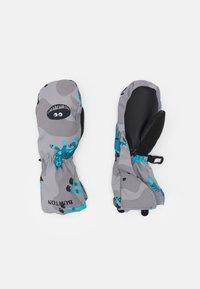 Burton - TODDLER GROMMITT BEAR UNISEX - Rękawiczki z jednym palcem - grey/turquoise - 0