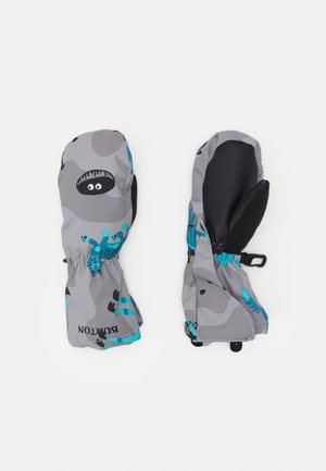 TODDLER GROMMITT BEAR UNISEX - Wanten - grey/turquoise