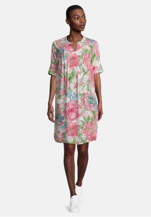 Day dress - weiß/rosa