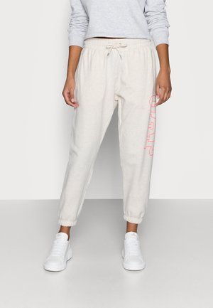 EASY - Tracksuit bottoms - oatmeal heather