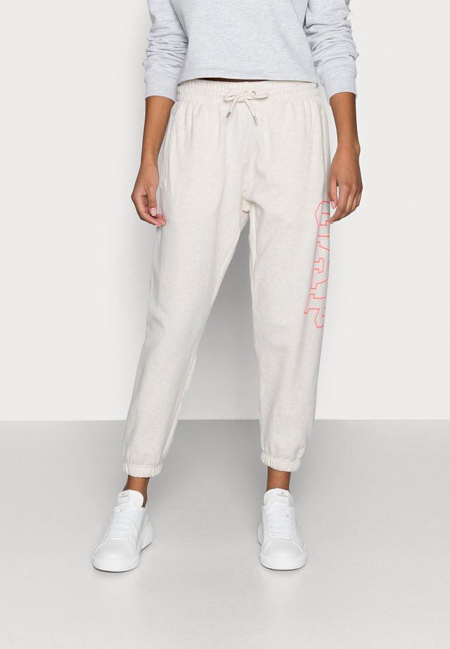EASY JOGGER - Pantalon de survêtement - oatmeal heather