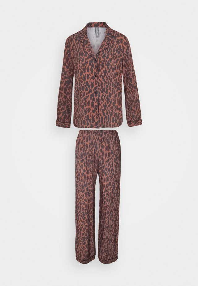 SET - Pyjamas - brown/black