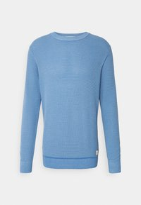 Scotch & Soda - CLASSIC  - Jumper - seaside blue melange - 0