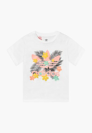 TEE - T-shirt con stampa - white/multi-coloured