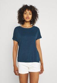 Ragwear - PECORI - Print T-shirt - navy - 0