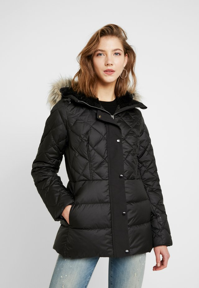 WHISTLER TAILORED - Gewatteerde jas - dark black