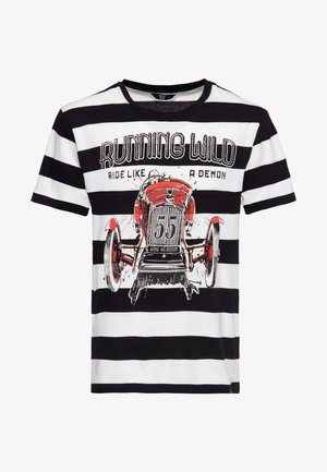 T-shirt imprimé - gestreift