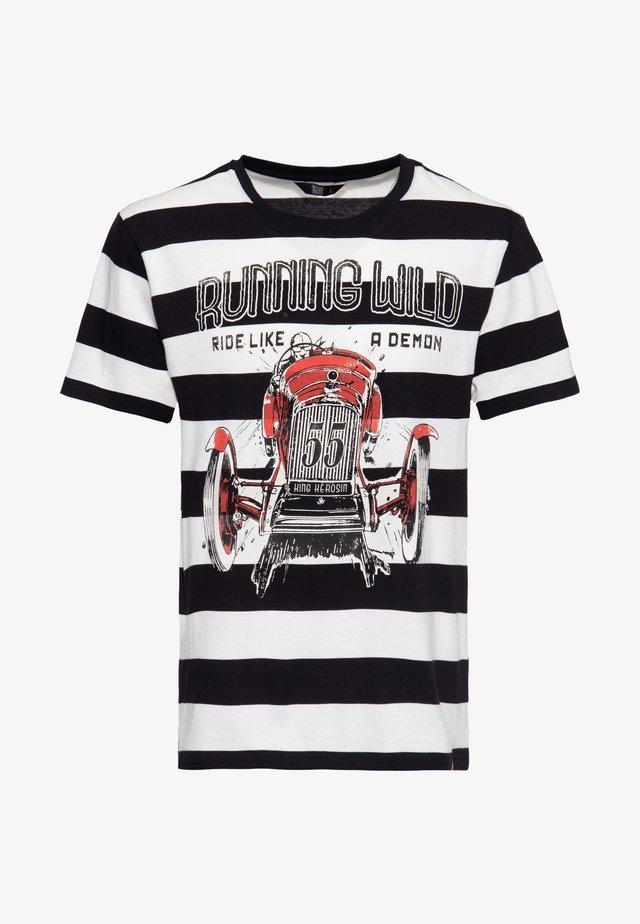 T-shirt print - gestreift