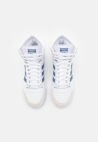 adidas Originals - TEN SHOES MID - Sneakers high - footwear white/blue/crystal white - 3