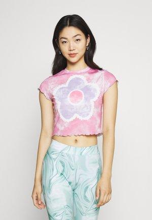 JAM TEE - Print T-shirt - pink