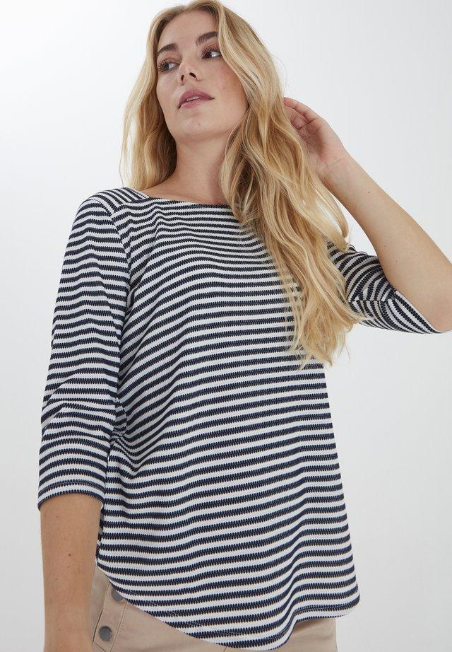 FRPEJACQ 1 - Långärmad tröja - navy blazer mix