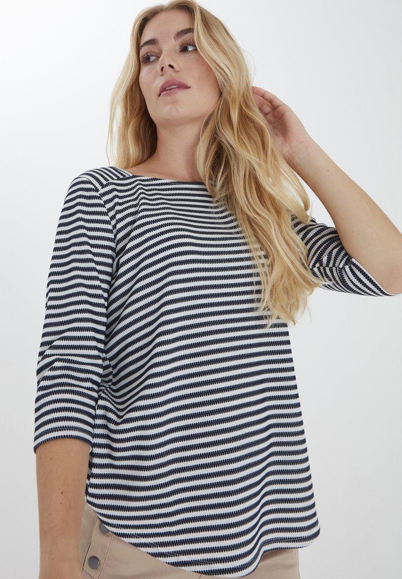 Fransa - FRPEJACQ 1 - Camiseta de manga larga - navy blazer mix