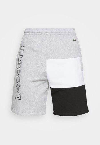 Shorts - argent chine/blanc noir