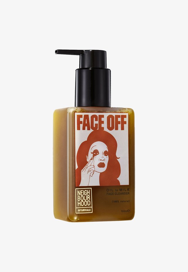 FACE OFF OIL TO MILK FACIAL CLEANSER 150ML - Cleanser - -