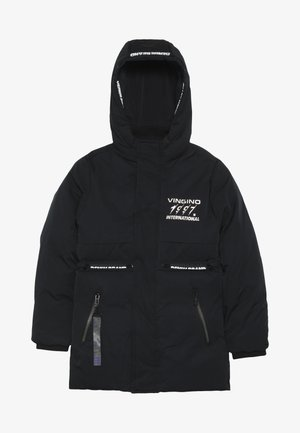 TEFO - Winter jacket - deep black
