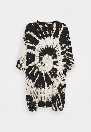 HUGE - Print T-shirt - black