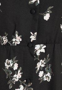 Vero Moda - VMFALLIE TIE DRESS - Skjortekjole - black - 10