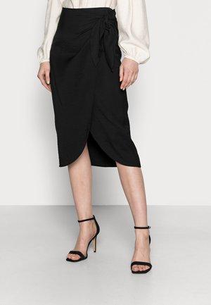 ODANI - Wrap skirt - black