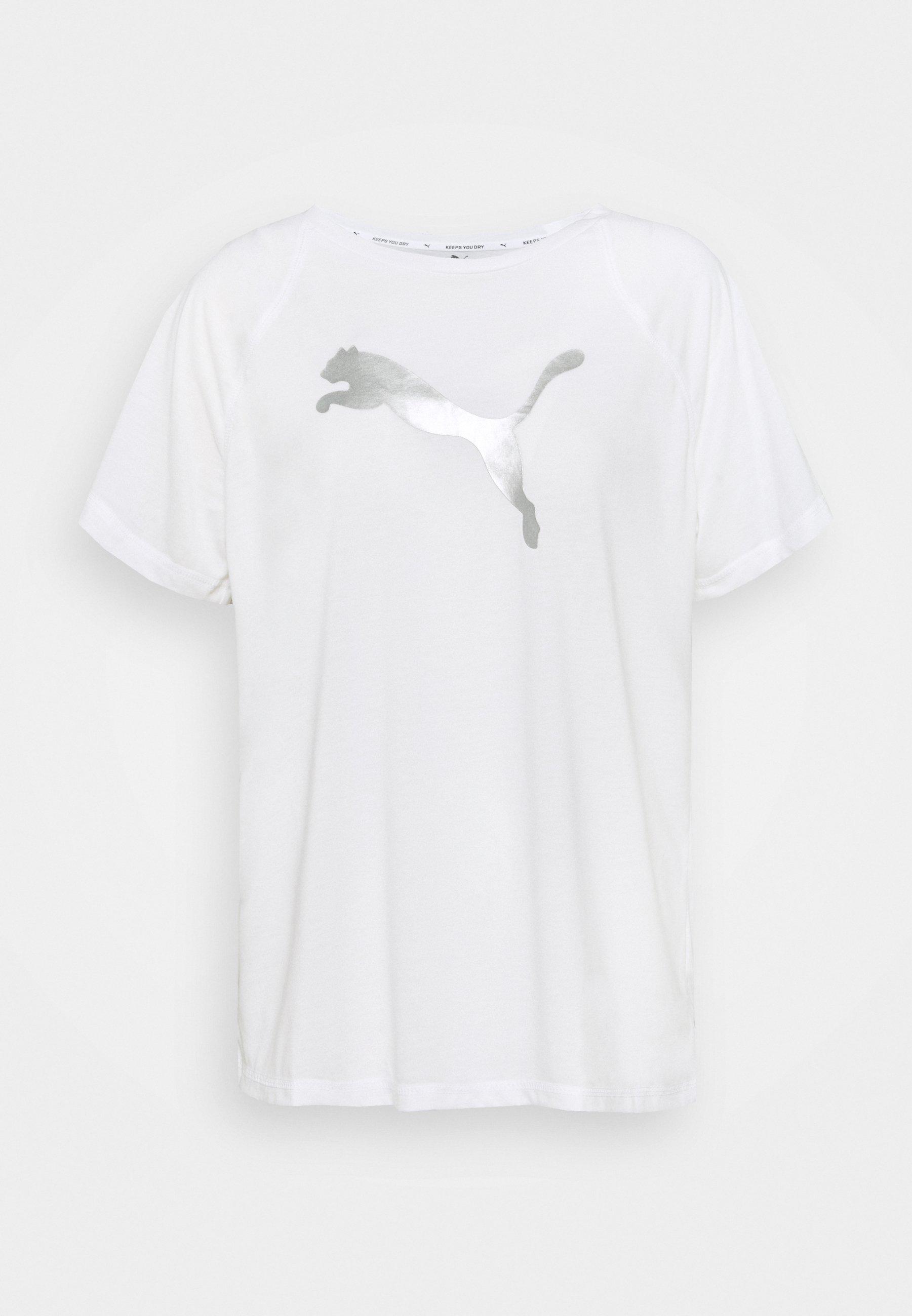 Femme EVOSTRIPE TEE - T-shirt imprimé