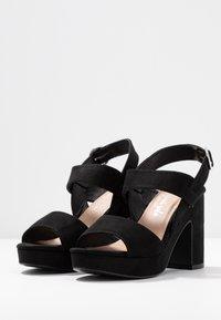 New Look - SELVEDERE - High heeled sandals - black - 4