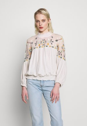 MONDAY MORNING TOP - Bluser - off-white