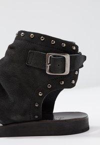 Felmini - CAROLINA  - Ankle cuff sandals - pacific black - 2