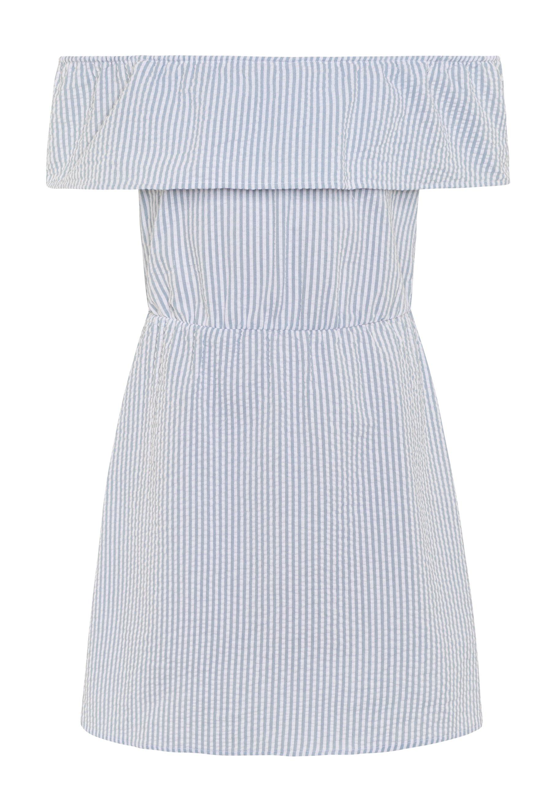 Vila VILATTI SHORT DRESS - Kjole - ashley blue