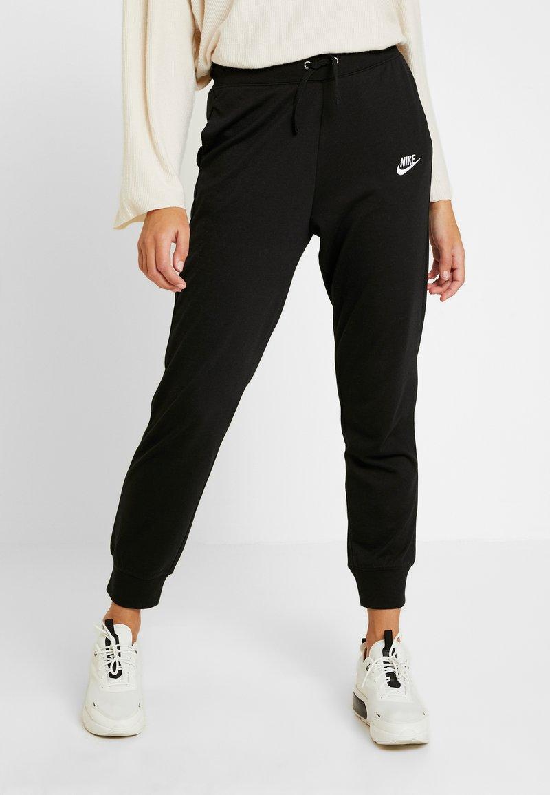 Nike Sportswear - PANT - Tracksuit bottoms - black/white